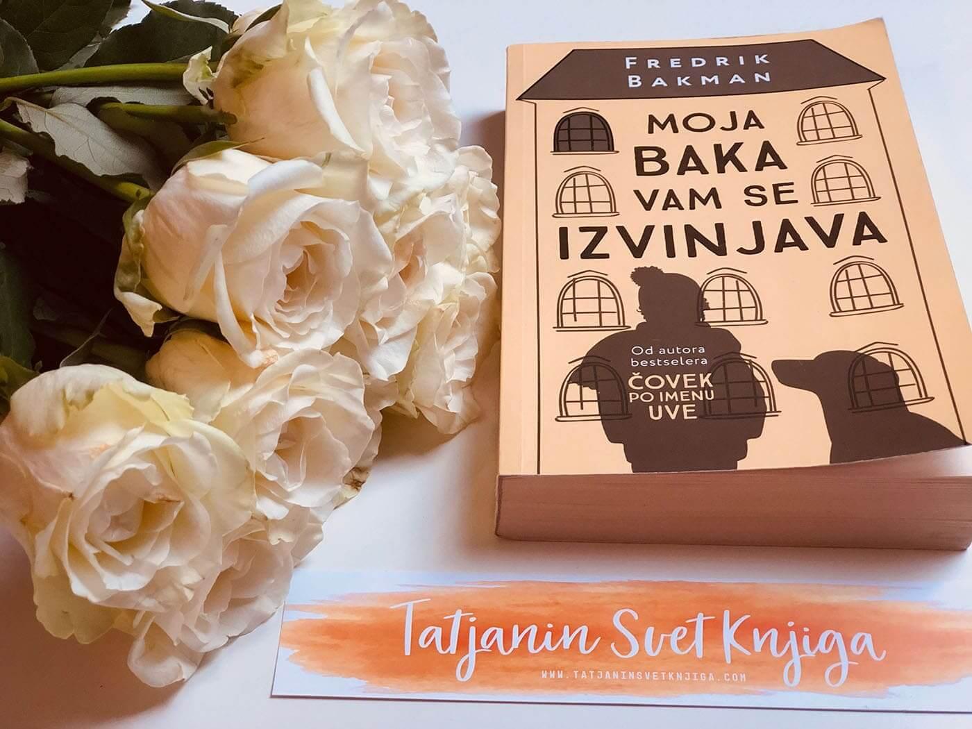 "Fredrik Bakman ""Moja baka vam se izvinjava"""